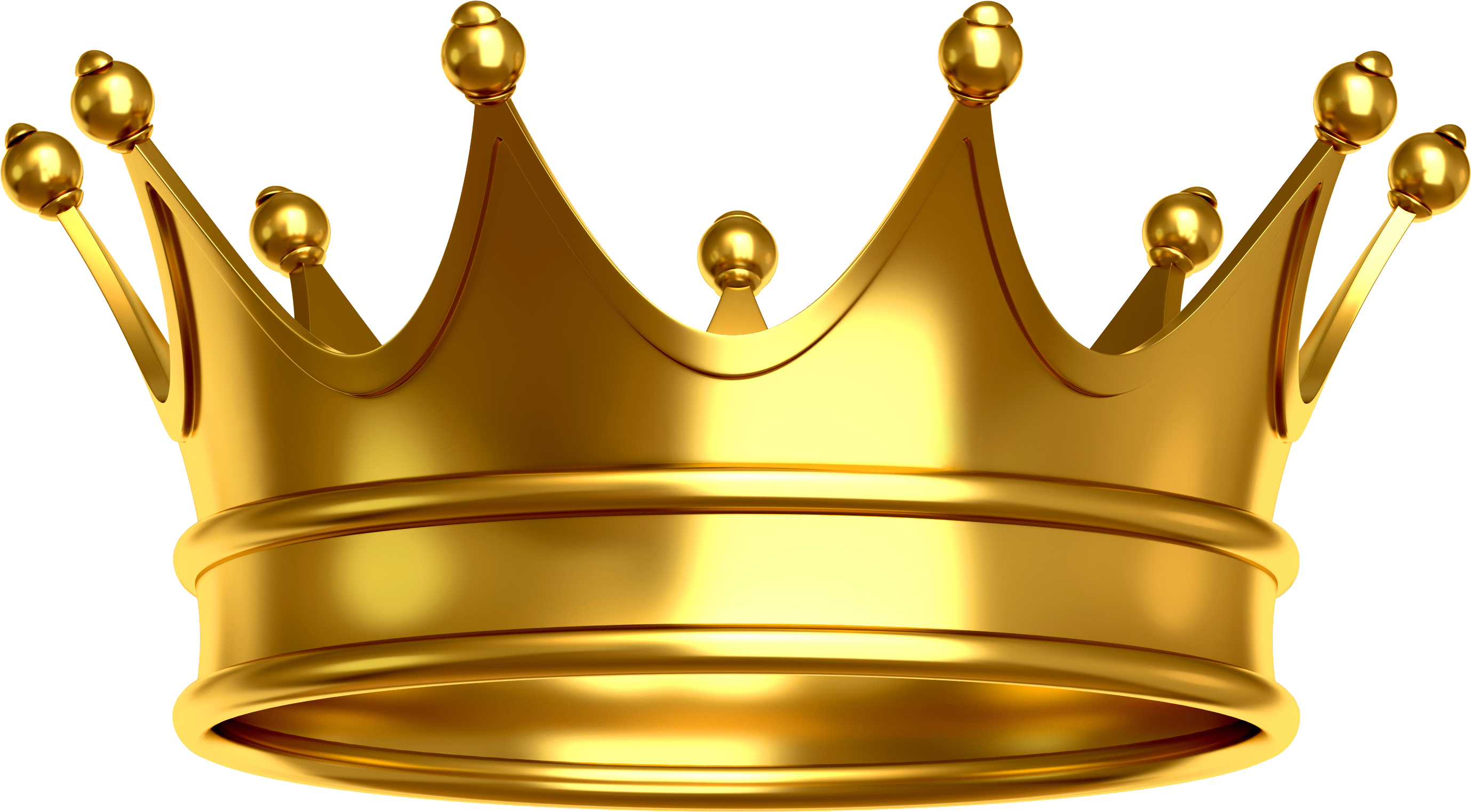 Gold Crown | King crown images, Gold, Crown png