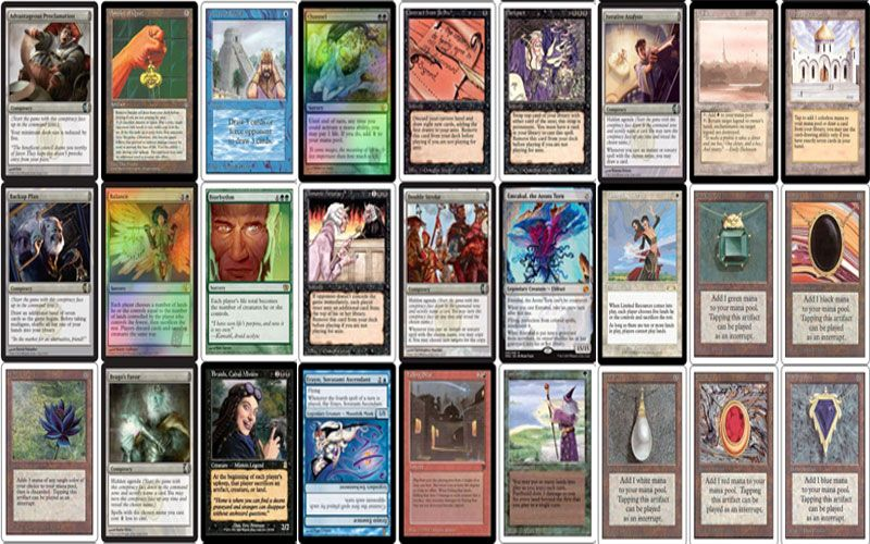 Rhystic Scrying Commander Ban List Edh Rules Magic The Gathering Scrying Mtg