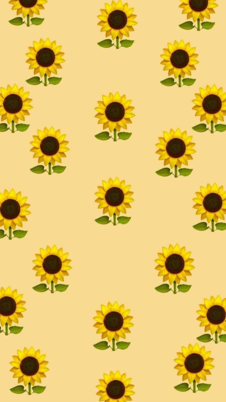 Fondos De Pantalla Para Celular Wallpaper De Emoji De Girasol Con
