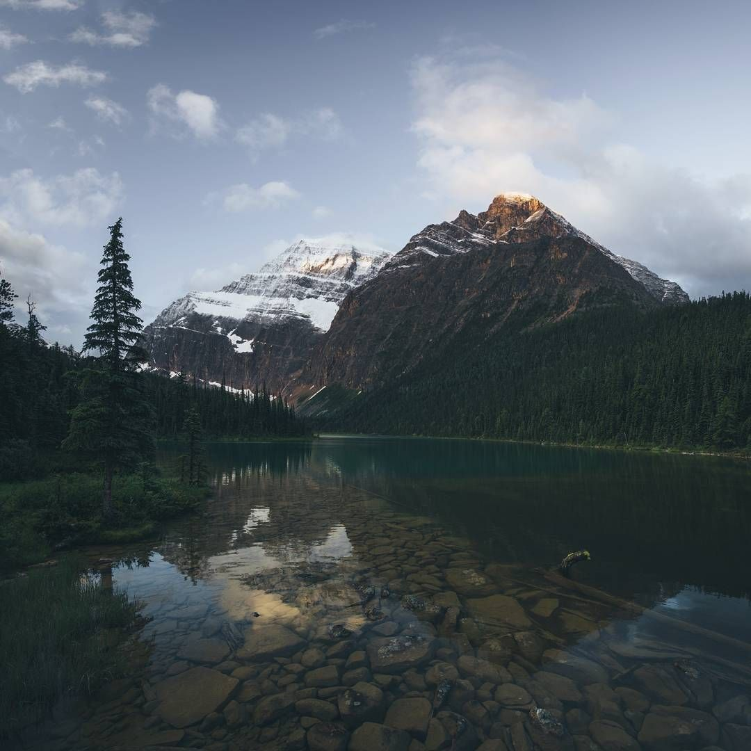 Mount Edith Cavell wanderlog on pinterest