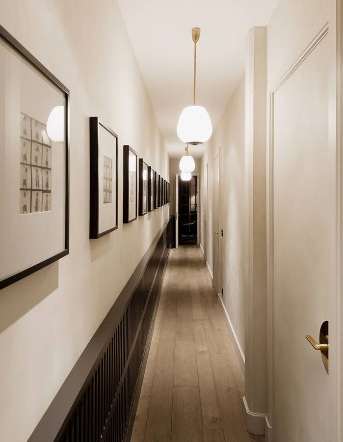 Un Appartement Metamorphose Par Laura Gonzalez Schmaler Flur