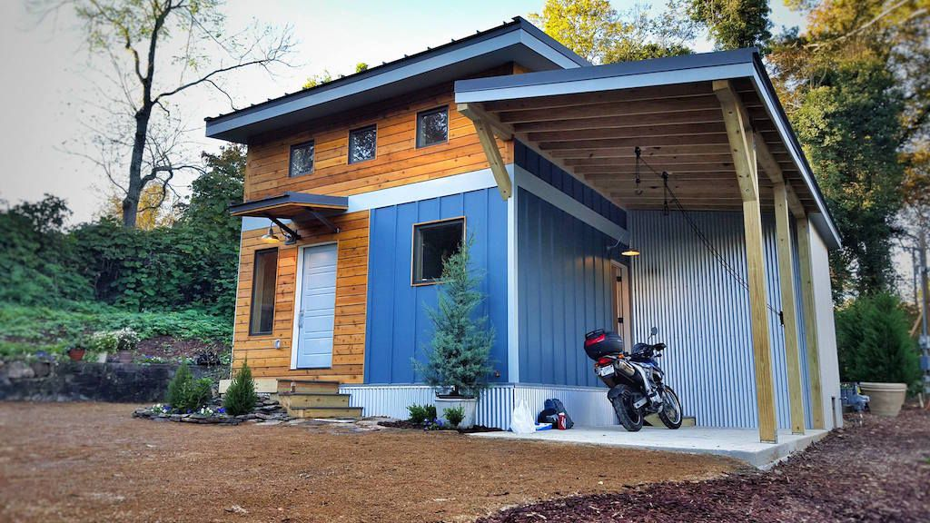 urban micro home a 600 sq ft home in downtown chattanooga tn rh pinterest com