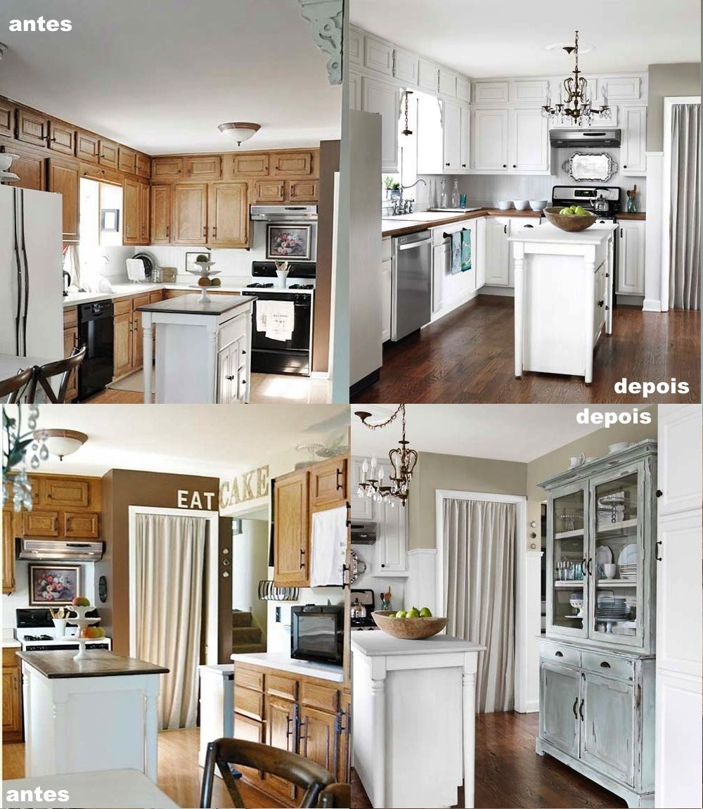 Cozinha antes e depois http://www.countryliving.com/homes/renovation-and-remodeling/before-and-after-home-makeovers