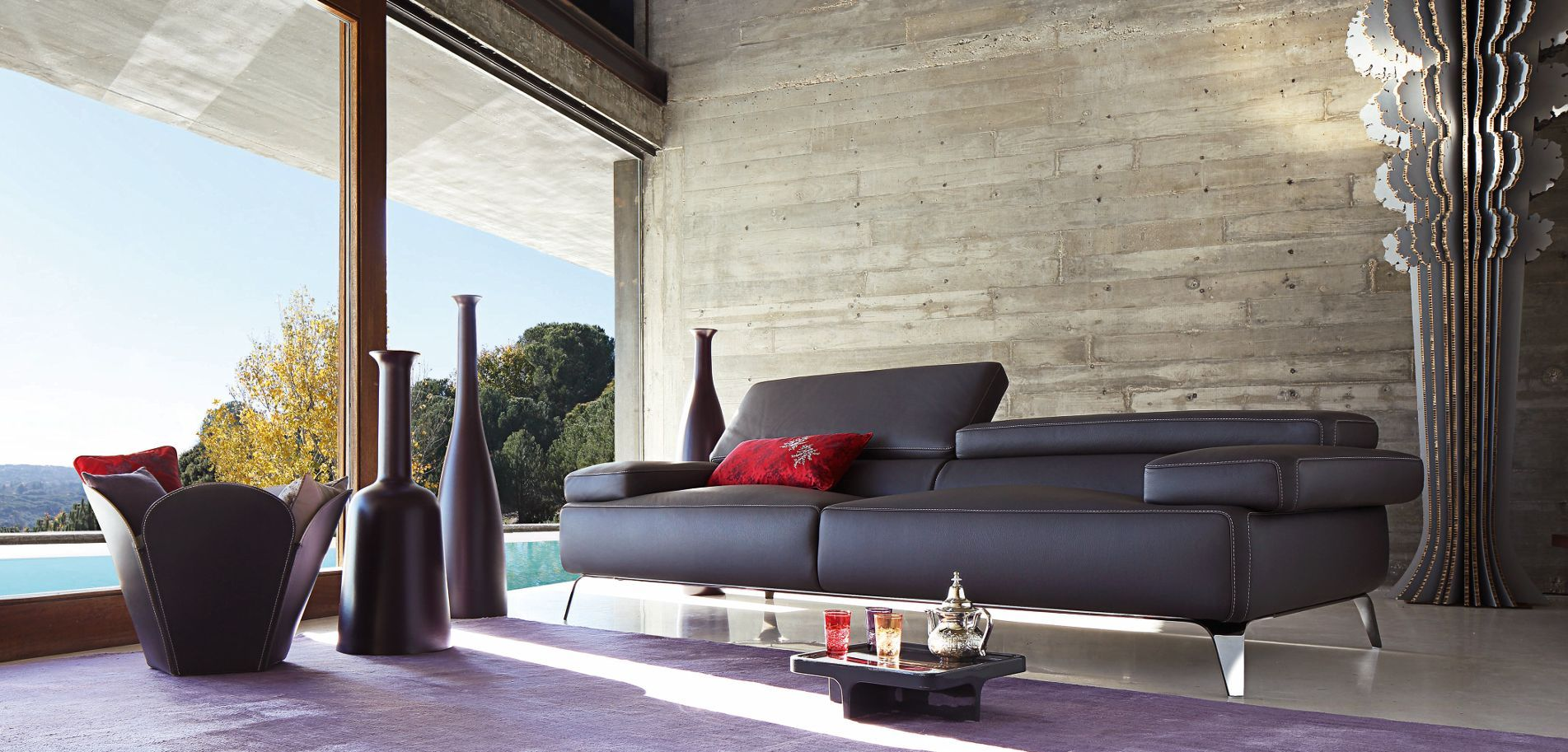 Discover the design furniture selection and the
