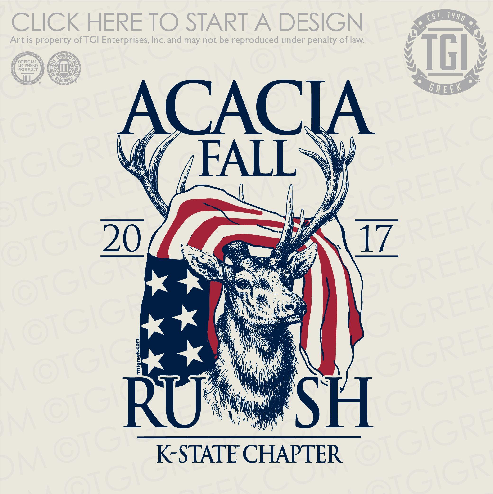 Acacia Fall Rush Rush Shirt Tgi Greek Greek Apparel Custom