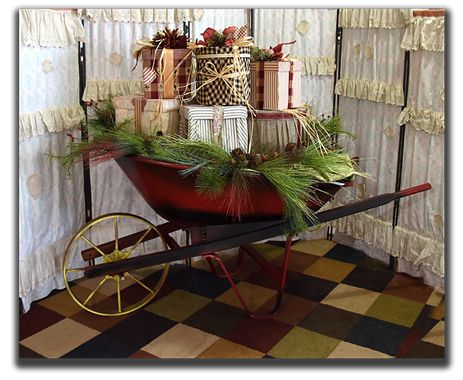 Rustic Christmas Props, Vintage Christmas decorations, Country ...