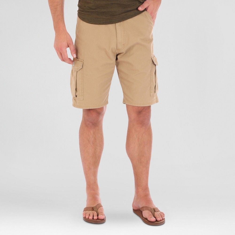 125d853681 Wrangler Men's Ripstop Cargo Shorts - Tan 42 | Products | Shorts ...