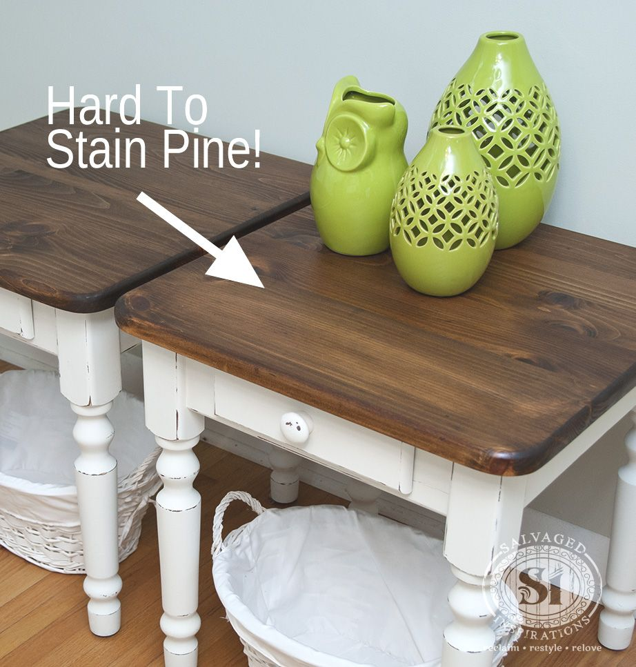 Tips For Staining Wood Hard To Stain Pine