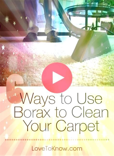 is best known as a laundry aid but it makes a great natural carpet cleane Borax is best known as a laundry aid but it makes a great natural carpet cleane  Borax is best k...