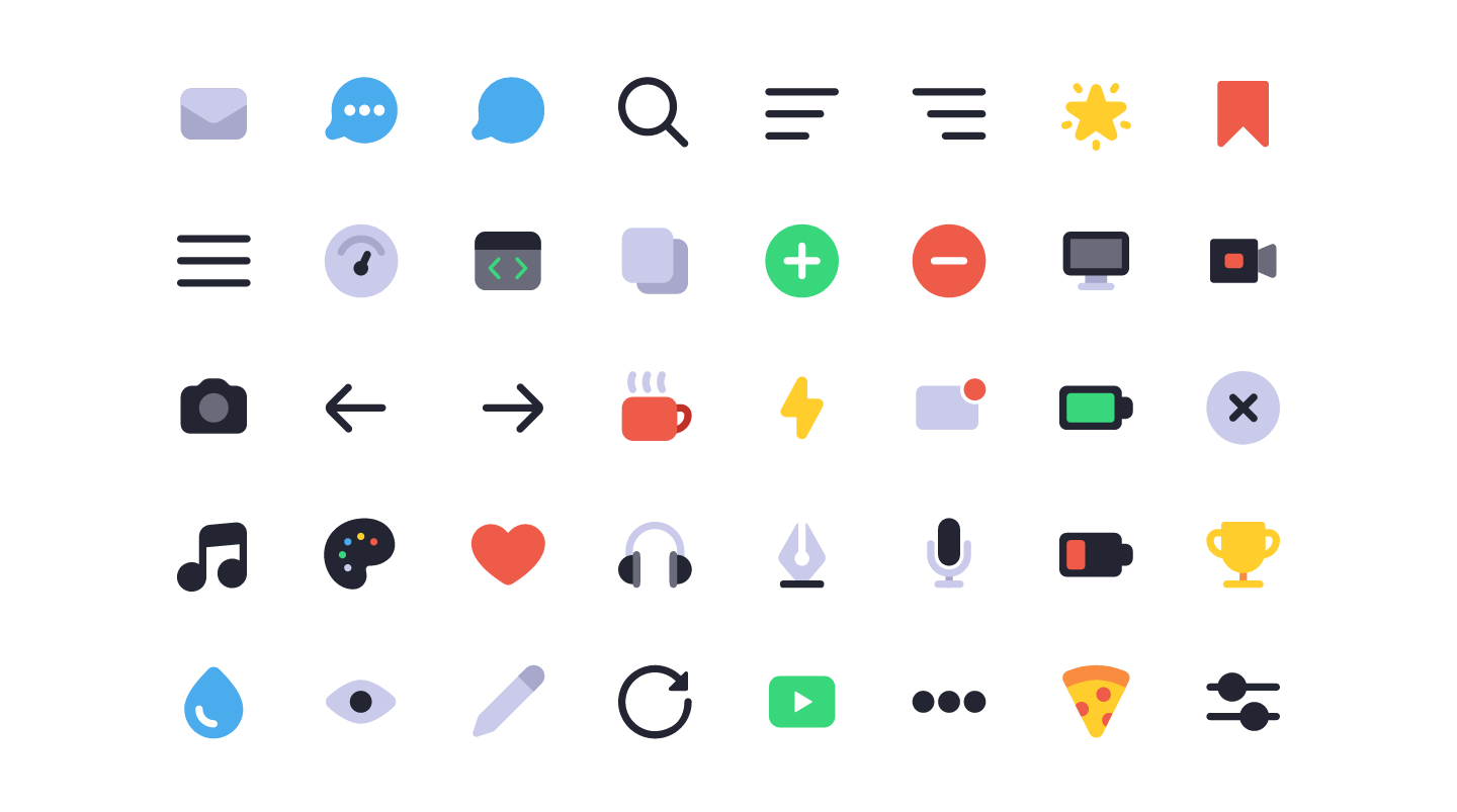 Lets Make Multi Colored Icons With Svg Symbols And Css Variables