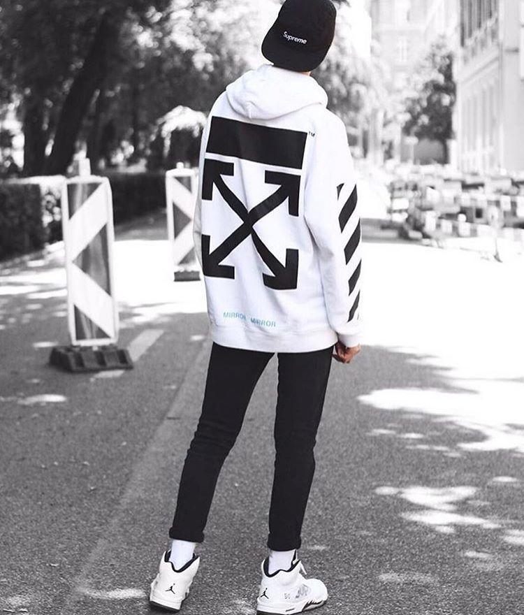 white jordans outfit