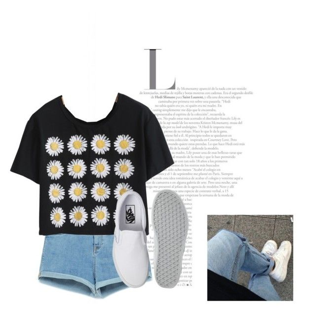 """casual day"" by nicole-wu03 ❤ liked on Polyvore featuring Zara and Vans"