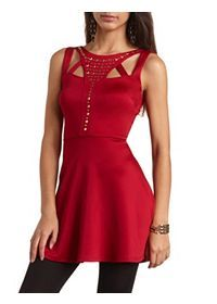 Fancy Leather, Lace, & Sequin Party Dresses: Charlotte Russe