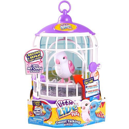Little Live Pets Bella Rina Little Live Pets Pet Bird Cage