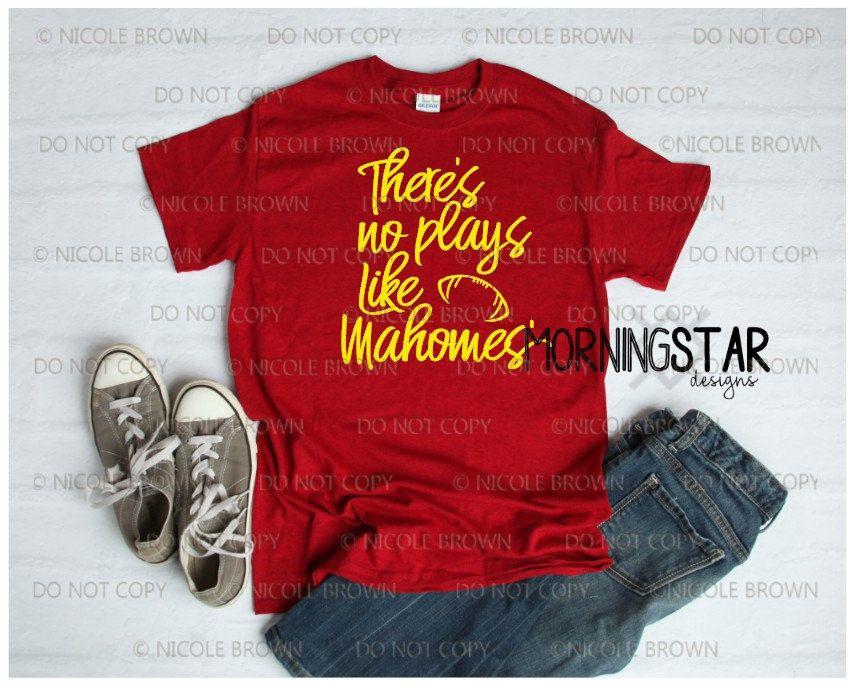 Patrick Mahomes Kansas City Chiefs t-shirt No Play