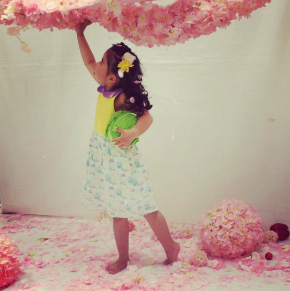 Dress Rose  photo shoot - Jette Shop - Japan