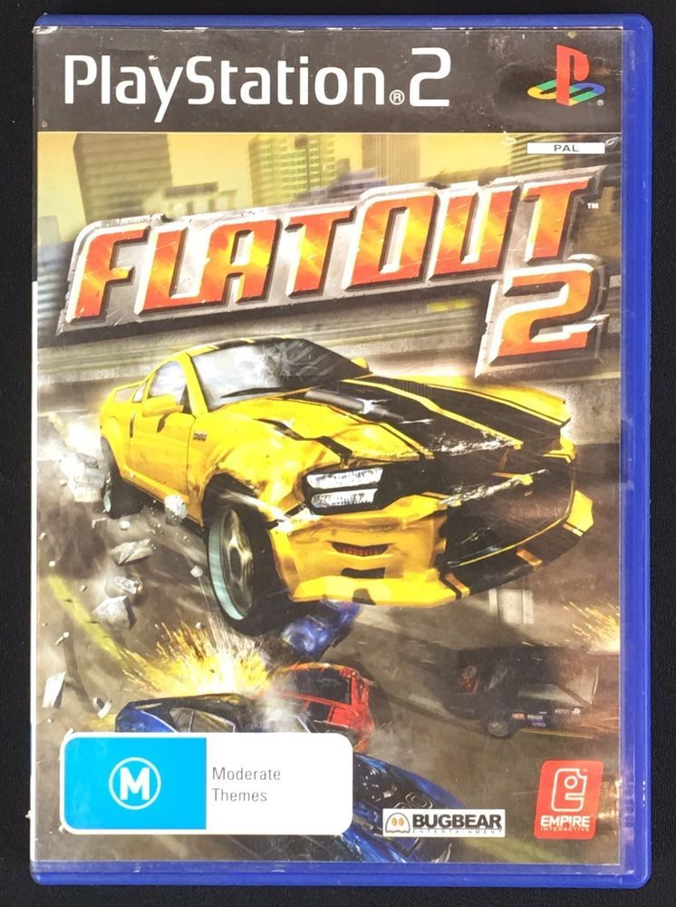 Ps2 Playstation Game Flatout 2 Game Download Free Gaming Pc Games
