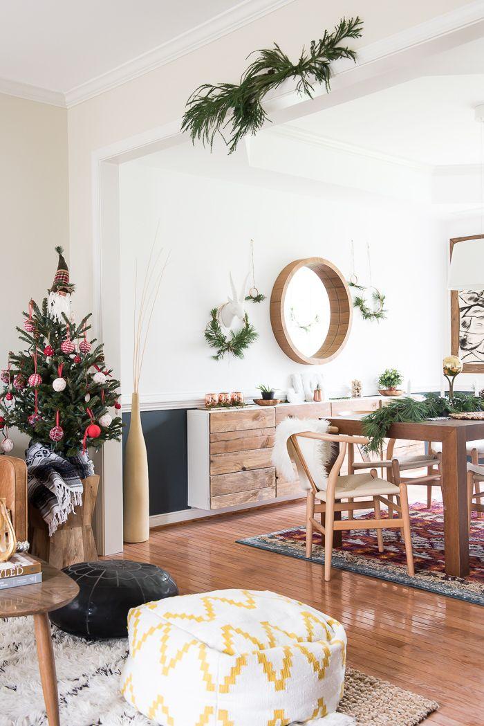 Best Simple Dining Room Christmas Decor Simple Room 640 x 480