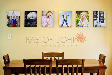 Such fun photos for the kitchen wall! | Wall Art Ideas | Pinterest ...