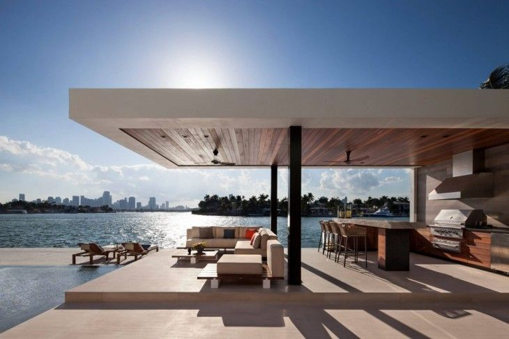 M Home Design Group Part - 24: Charlotte Dunagan Design Group Design Casa Clara, A Modern Luxurious Clean  Lined House Set On The Venetian Island Of Miami Beach - CAANdesign