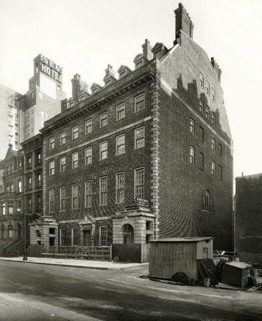 Marshal Field Residence 4 6 8 East 70th Street New York City