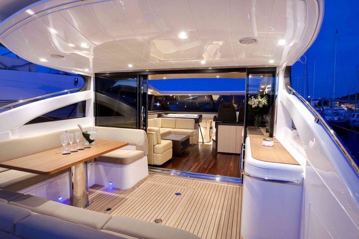 Innenarchitektur Yacht byblos tropez yacht luxury tropez