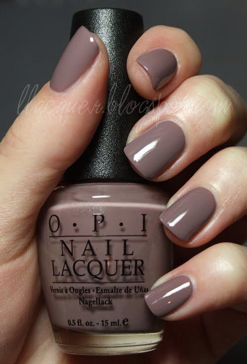 Perfect For Winter Light Colored Nails Opi Nail Polish Colors