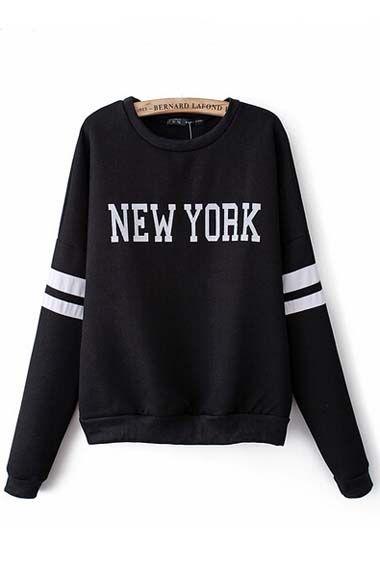 Sweater Hoodie New York Nice Design