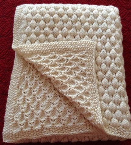 Hand Knitting Tutorials Dean S Blanket Free Pattern