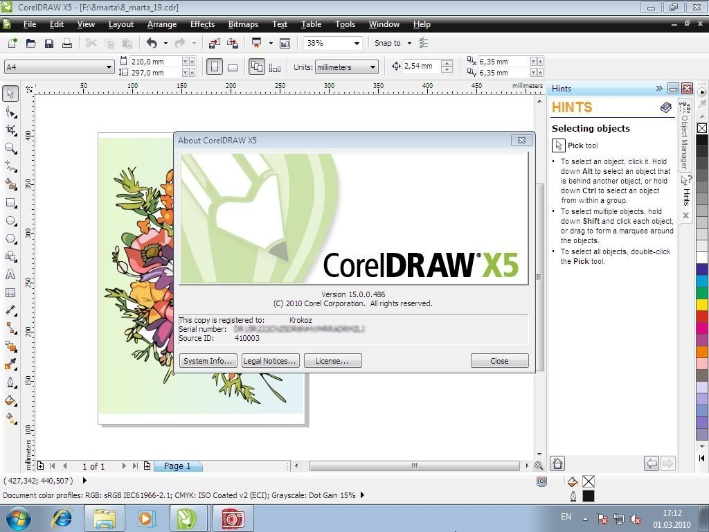 corel draw x5 keygen direct download