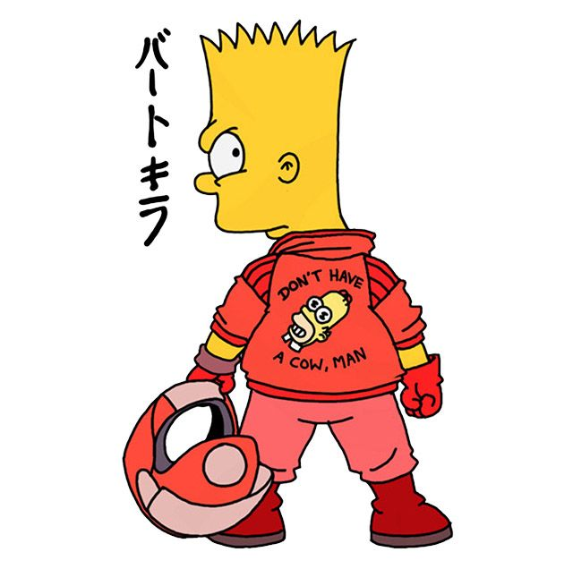 Bartkira Paris : l'ultime exposition (fin du remake/crossover Akira x Simpson) - News