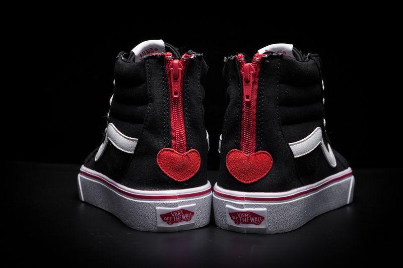 Vans Valentine s Day limited SK8-Hi black high canvas section A38GRNA6 code  35-39 Model C31911  Vans 6d74525d4