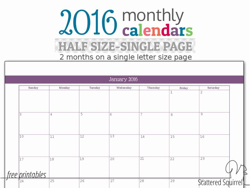 Inspirational 58 Design Checkbook Size Calendar Printable (With