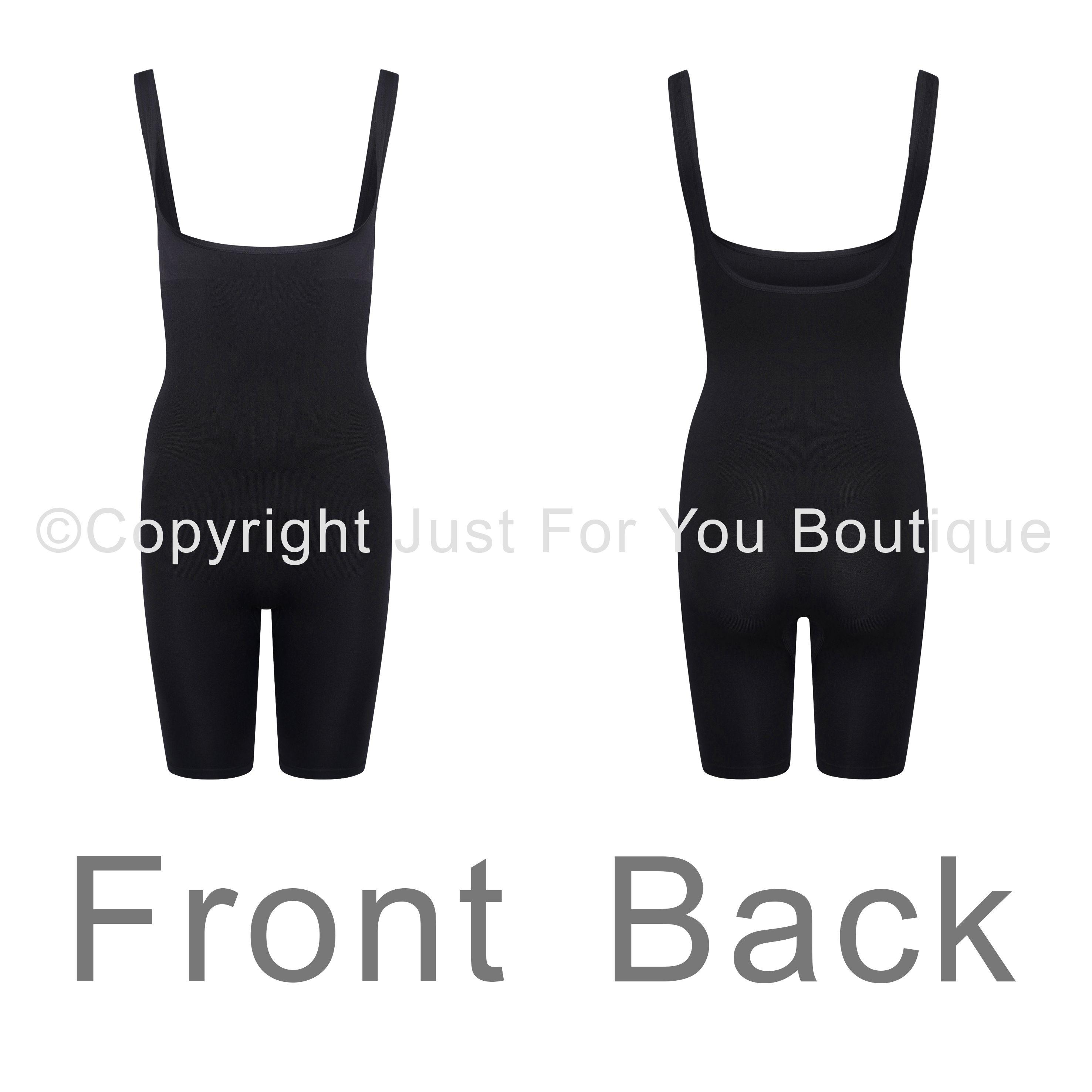 Control Knickers Shorts Seamless Shapewear Black Nude Size 8 10 12 14 16 18 20