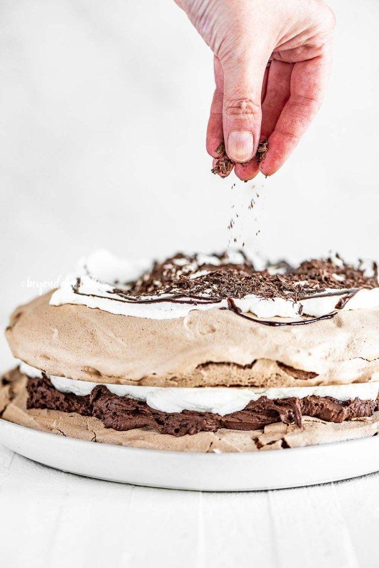 Chocolate Meringue Layer Cake Recipe Chocolate Meringue Cake Recipes Homemade Chocolate