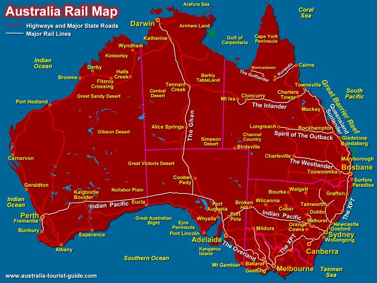 perth rail map australia sydney - photo#17