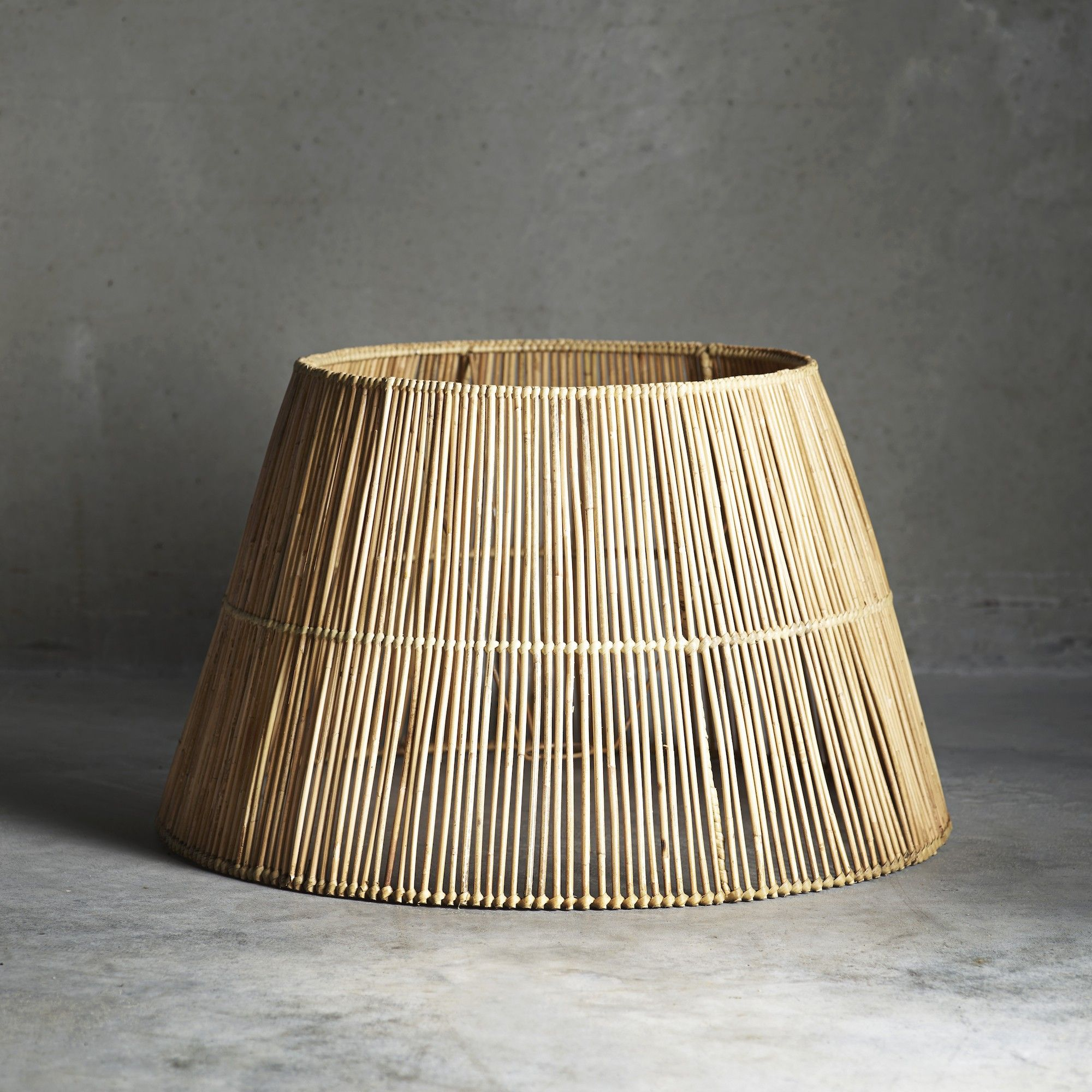 Extra Large Rattan Lampshade | Tine K Home | Design Vintage | Wish ...