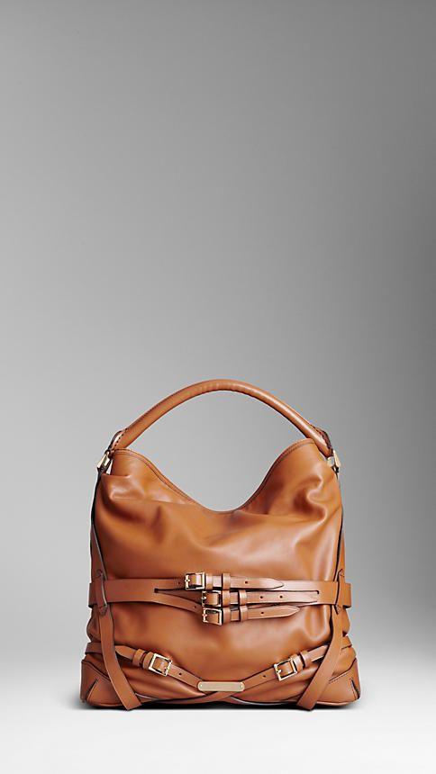 Burberry Bridle Leather Hobo 142d2e2bbfe42