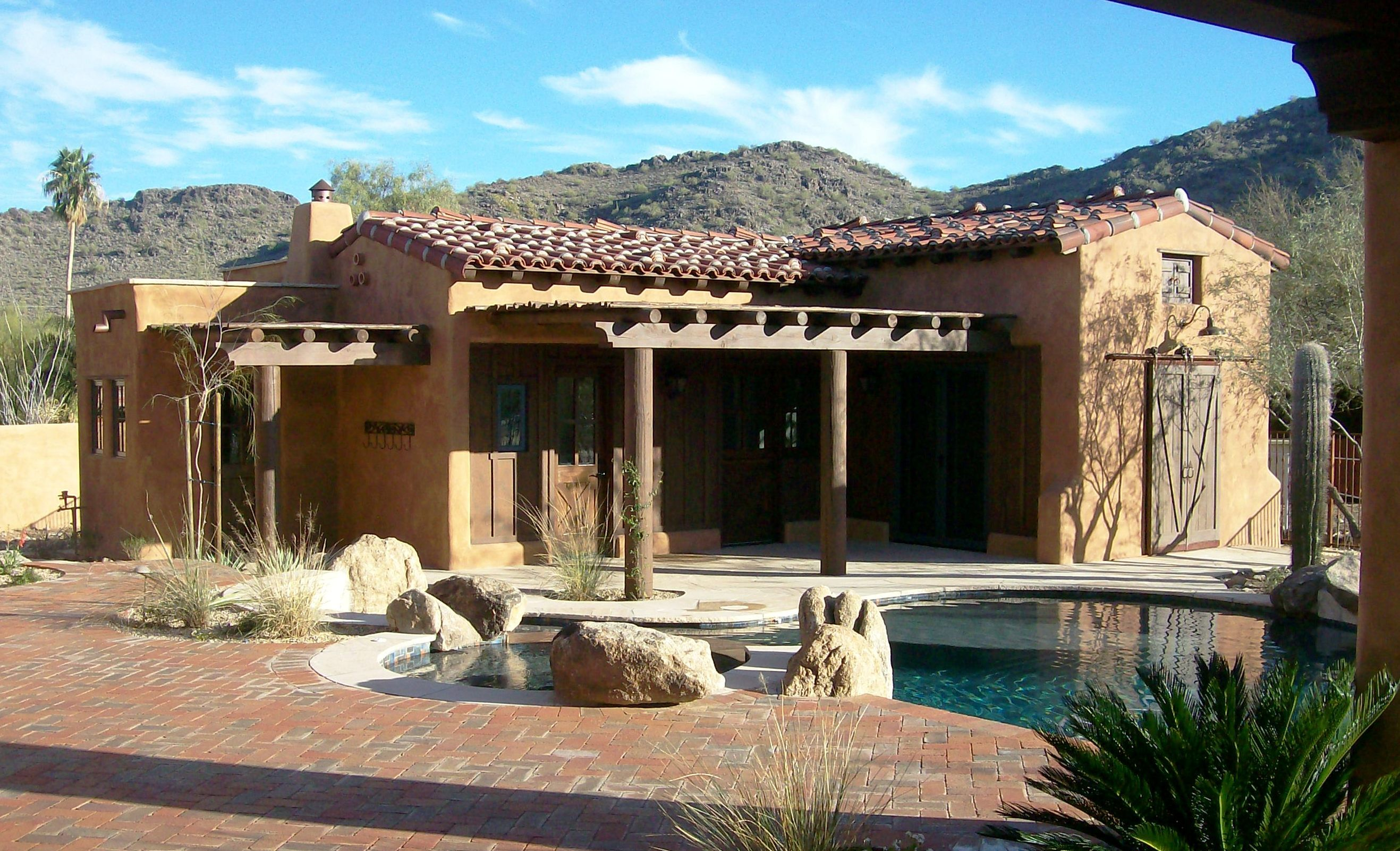 Mexican Style Homes Casitas Custom Home Builders And Home Remodeling In Arizona Mecico