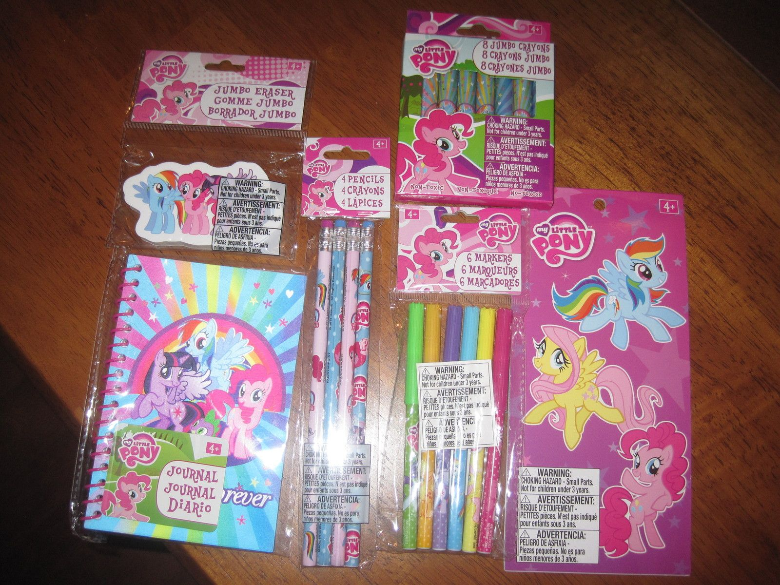 New My Little Pony markers, crayons, stickers, pencils, journal $5.00 #carol58