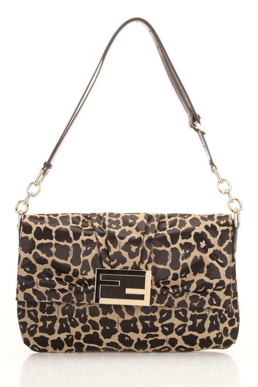 3795d0e9d4c6 Fendi Tess Leopard Handbag- For more Fashion Finds visit us at Brides Book