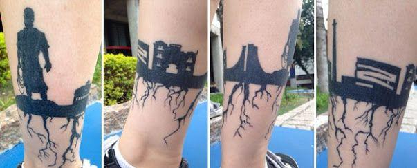 tatuagem cidade - Pesquisa Google