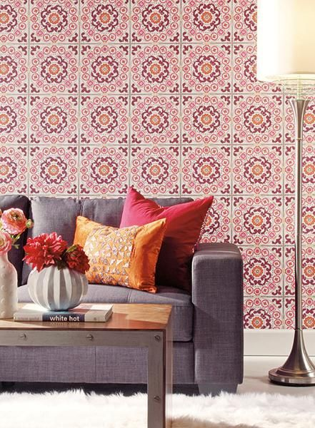 From the Modern Shapes collection: Warm radiant color. Modern energy meets cultural charm. Define your style with Carey Lind designs.