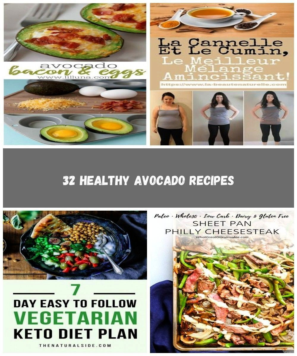 Avocado Recipes  Avocado Bacon and Eggs  Easy Clean Eating Recipes for Breakfast Lunches  Healthy A
