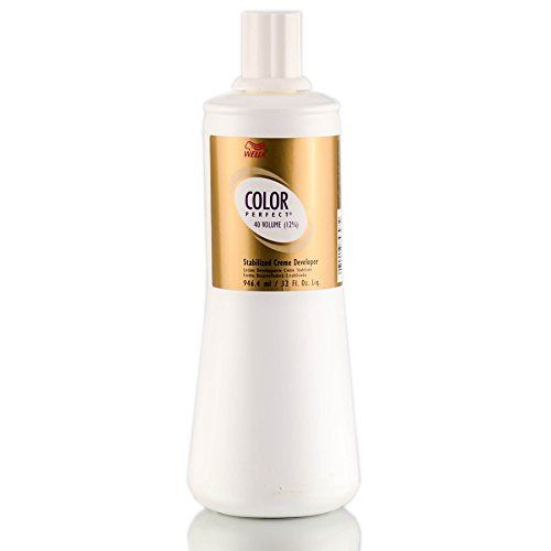 Wella Perfect 12 Percent Creme Developer Hair Color, 33.8 Ounce -- Click image to review more details.
