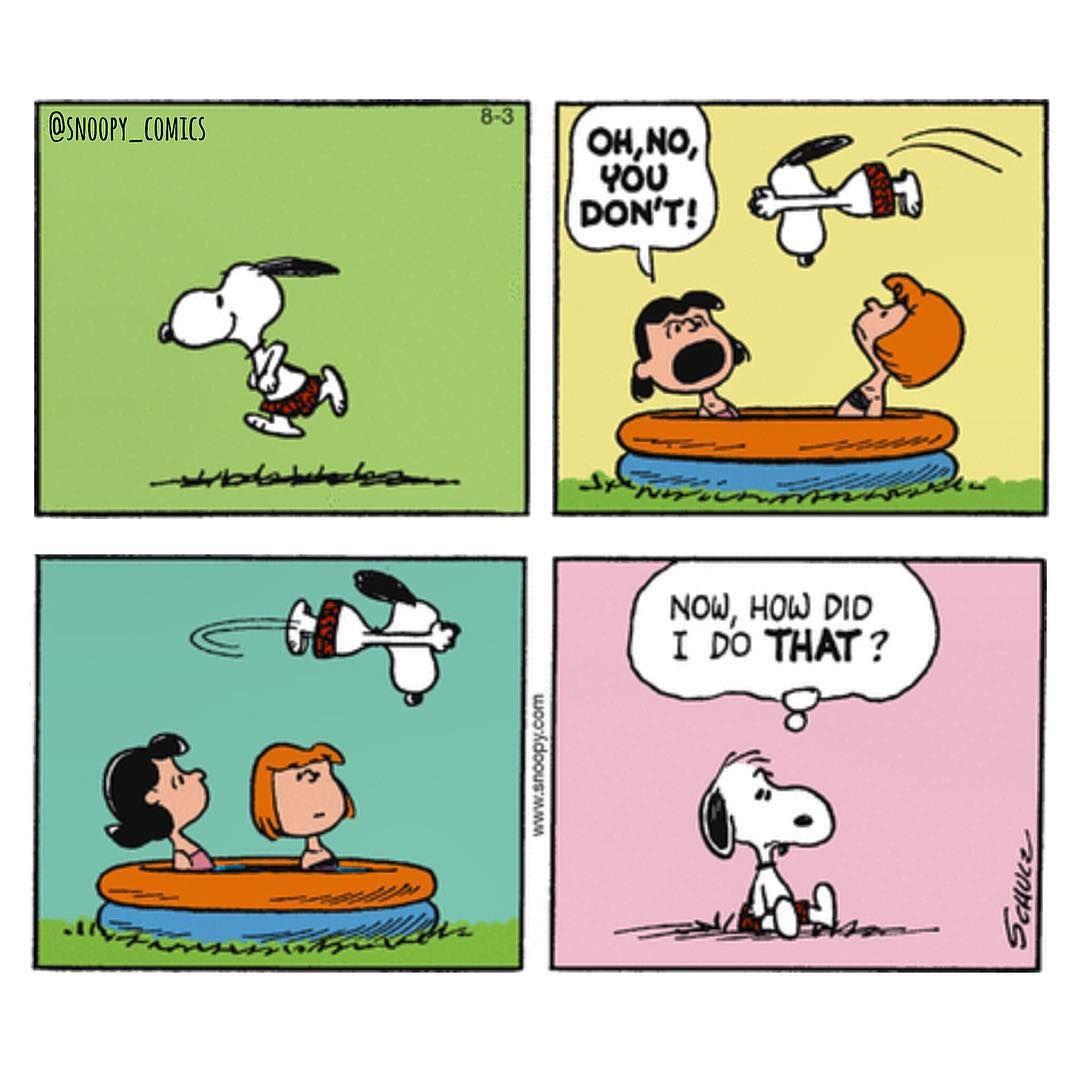 Snoopy comic strip