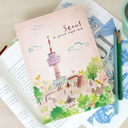 Lapres midi Travel journal note 96 pages - Seoul (http://www.fallindesign.com/lapres-midi-travel-journal-note-96-pages-seoul/)