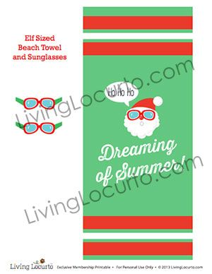 Christmas Elf Printables is part of Elf on the shelf, Christmas elf, North pole elf, Elf, Shelves, Beach towel - Cute printable ideas that coordinate with your Christmas Elf on the Shelf  Surprise the kids with these easy gift ideas! Help for a Christmas tradition