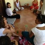Meeting with Pak Man, a traditional Balinese healer in Ubud.