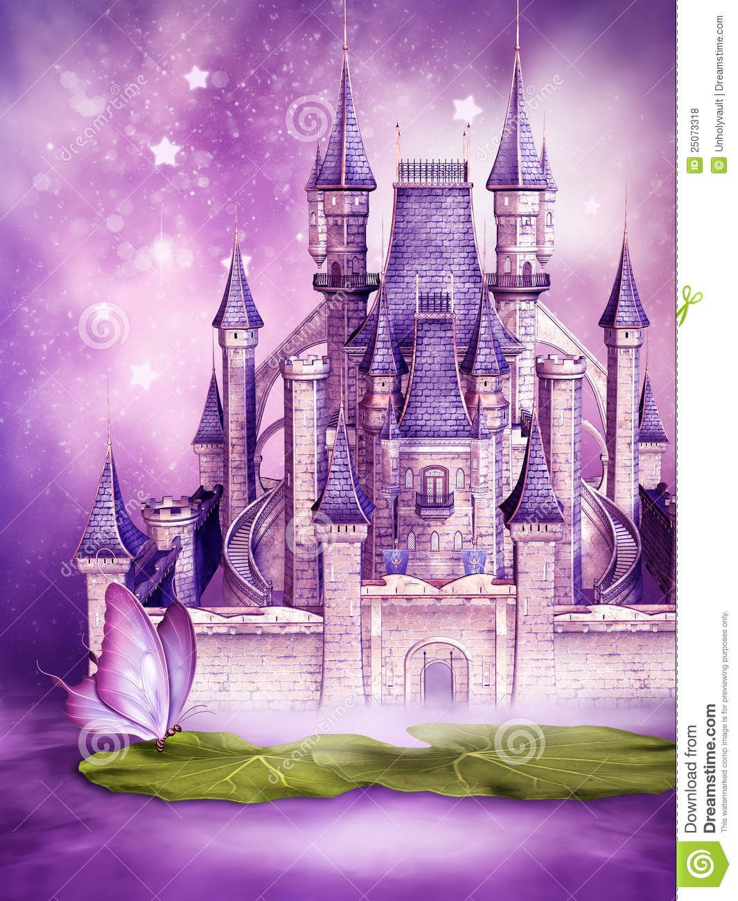 fairy castles | fairytale castle on water | little girls room